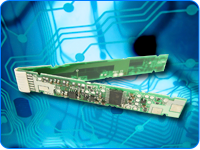 circuitos impresos con componentes